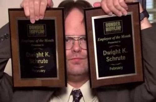 dwight employee appreciation ideas